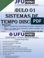 1 - Sistemas de Tempo Discreto.pdf