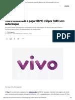 Vivo é condenada a pagar R$ 93 mil por SMS sem autorização _ VEJA.com