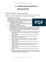 2010 Auditing Update PCAOB Auditing Standard 7