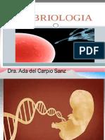 Gamatogénesis y Embrioénesis