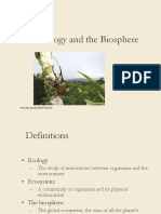 1_Ecology and the Biosphere ppt