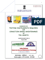 Handbook on Testing Instrument Required for Condition Based Maintenance of TrD Assets(1)