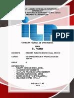 EL FORO - ILP