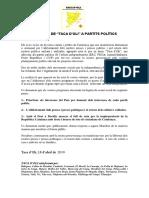 Manifest de la Taca d'oli