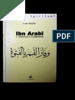 Khalifa Ibn Arabi Initiation a Inconnue (1)