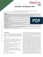 Artigo. Treatment of Poststroke Constipation With.70