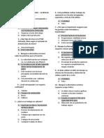 Examen - Estandares de Seguridad 14 REGLAS de VIDA