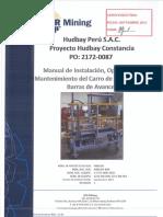 V-2172-0087-0022 Certified IOM - Spill Bar Machine - Spanish - RCR Mining Pty Ltd.pdf