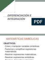 Derivación e Integración Matlab