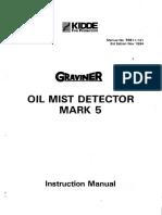 GRAVINER, MARK 5 OIL MIST DETECTOR, INSTRUCTION MANUAL.pdf