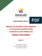 Manual de Usuario v2.0 Admweb Seti Ipress Ipress