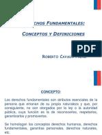 Presentación Derechos Fundamentales