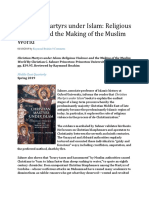 Christian Martyrs Under Islam