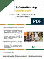 Profesii Digitale - Indicatii Utilizare Aplicatie