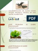 Algas en Colombia 2