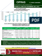 Cifras 762 Bolivia Importaciones Diciembre 2018