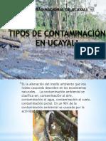 4 Tipos de Contaminación