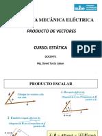 Estática Nº 03 Producto de Vectores