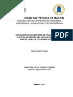 Evaluación de Los Efectos de Una Política de Gestión de Agua de Riego en Los Agricultores de Dos Zonas de Ecuador