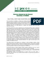 CHARTERS adopted b y ICOMOS.pdf