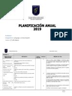 Formato Planificación Anual 2019
