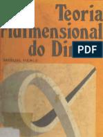 Miguel Reale - Teoria tridimensional do direito.pdf