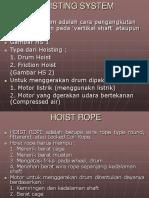 Hoisting System