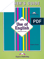 CPE Use of English Virginia Evans