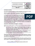 2016 Mielografia, Cisternotac o Mielotac