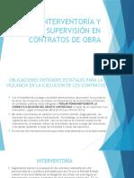 Presentacion Interventoria y Supervision 2018