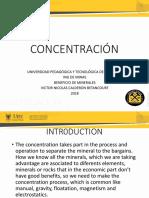 Concentracion. Calderon