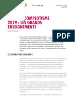 Enquete Complotisme 2019