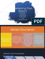 Marketing Plan Report Virtual Store