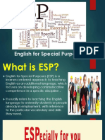 English for Special Purposes INTRODUCTION