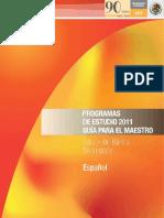 1. Sep Programasdeestudio2011.Guiaparaelmaestro.educacionbasica.secundaria.espaol