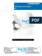Sea Tel Media Xchange Point LMXP Operation Manual