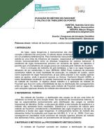 APLICAÇÃO DO MÉTODO DE FAUCHART NO CÁLCULO DE TABULEIRO DE PONTES