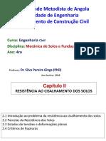 Apresentação Silva- Tema II RESISTÊNCIA AO CISALHAMENTO DOS SOLOS.pdf
