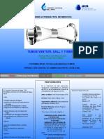 5.1.11 Tubos Venturi, Dall y Tobera