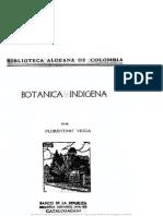 Botánica Indígena de Florentino Vezga