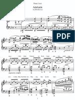 Liszt - Adelaide Beethoven