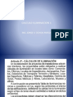 CALCULO ILUMINACION 1