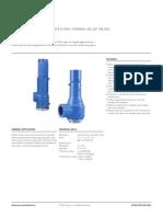 Data Sheets Bulletin Safeflo Safety Thermal Relief Valves Birkett en en 3674320