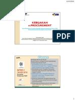 Kebijakan e Procurement