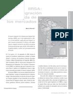 IIRSA La integracion a la medida de los mercados