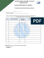 Ficha Refuerzo Académico 2018-2019 Completo