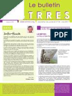 bulletin STRRES N° 23
