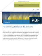 Resumo Nutricional Da Banana _ Yara Brasil