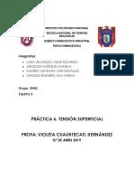 Practica 6 Tension Superficial 2fm2 Lvje Mmd Rmjo Zrak Profa Violetach