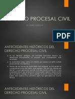 Derechos Procesal Civil 1